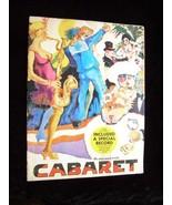 Cabaret Musical Souvenir Program 1960s Jack Gilford Bert Convy Jill Hawo... - $19.99