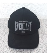 Everlast Classic Cap Black 100% Cotton Curved Brim New York Adults Mens ... - $22.97