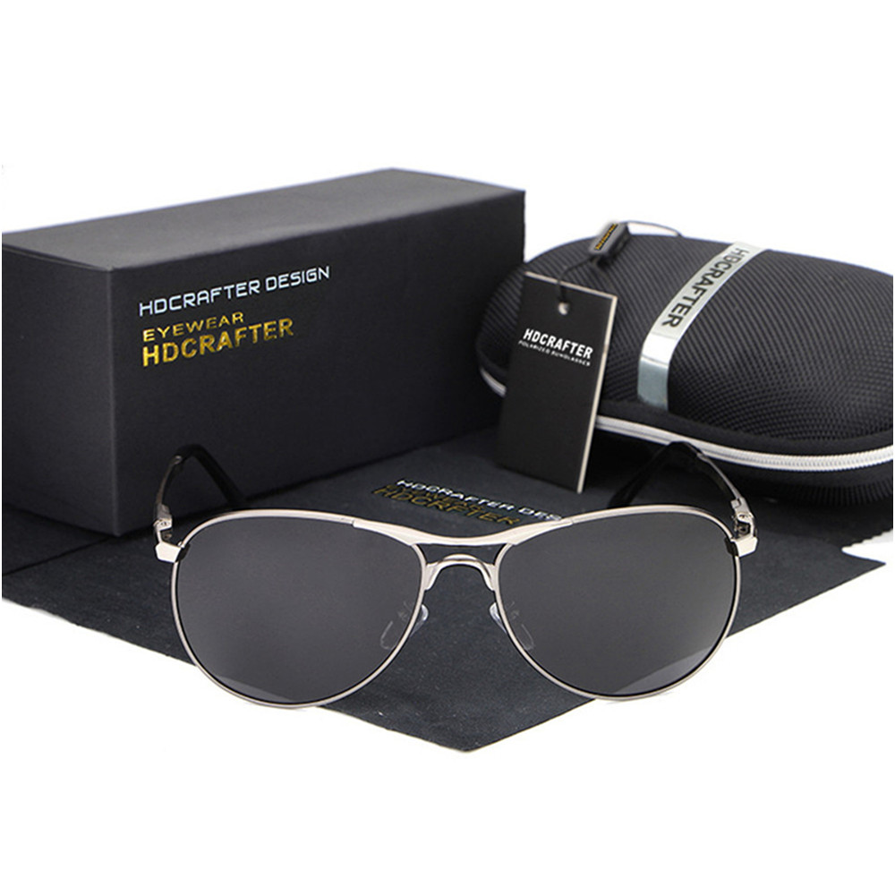 HDCRAFTER HD8722 High Quality Cool Polarized UV400 Sport Style Men Sunglasses