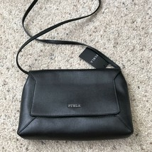 FURLA Black Glam Crossbody Bag - Saffiano NWT - $169.99