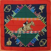 Gucci of Italy Equestrian Silk Scarf - $225.00