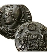 SHE WOLF suckling Twins. RARE R4 RIC. Constantine the Great Genuine Anci... - $625.50