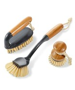 Masthome 3PCS Household Bamboo Brushes Kitchen and Bathroom Cleaning Bru... - $16.70