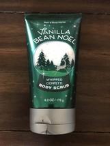 Bath & Body Works Vanilla B EAN Noel Whipped Confetti Body Scrub 6.2 Oz New - £16.72 GBP