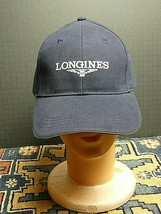 Longines Watch Blue Cotton Snap Back truckers Cap NWOT - $20.90