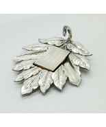 Chinese Export Silver Leaf Ashtray, Sterling Match Book Cover & La Petit... - $356.40