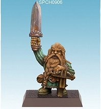 Spellcrow 28mm Miniatures: Gnome with Crossbow and Sword