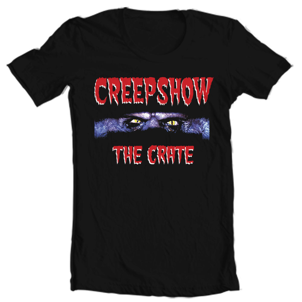Creepshow the crate movie horror film t shirt 1980 s old school stephen king
