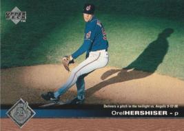 1997 Upper Deck #53 Orel Hershiser - $0.50