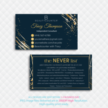 Personalized Beautycounter Business Card, Beautycounter Business Cards, ... - $9.00