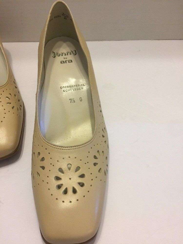 Ara Shoes Size 10M US Jenny Pumps Beige 2.5
