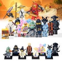 8pcs/set Ninjago Lord Garmadon Garma Mecha Man Pythor Angler Nya Wu Minifigures - $15.99