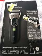 Braun Series 3 ProSkin 3090cc Men's Electric Shaver w/ Clean & Charge Sy... - $84.99