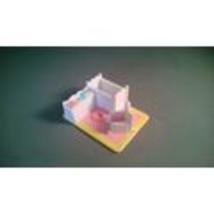 Polly Pocket Pollyville Misc. Room Nursery  - $5.00