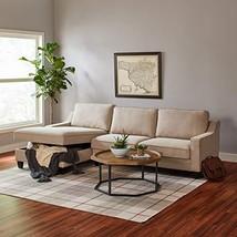 Stone & Beam Casual Plaid Rug, 8' x 10', Flatweave, Beige, Brown, Orange - $268.36