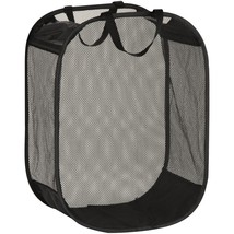 Honey-can-do Mesh Hamper With Handles HCDHMP03891 - $23.78