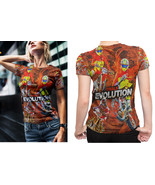 Freestyle MX Dirt Bike trial evolutions Tee women - $21.80+