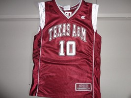SEWN Maroon Colosseum #10 NCAA Texas A&M Aggies Basketball Jersey Youth ... - $27.07