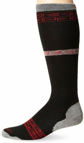 Large 10-12.5 Lorpen Men's T2 Classic Merino Ski Light Socks, Red