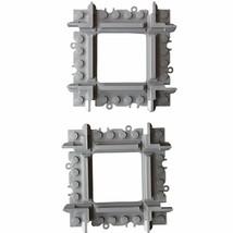2 x Lego kompatible Kreuzungsschiene Kreuzung Schienen Eisenbahnschienen... - $28.60