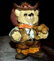 Cowboy Bear Animal Decor AA20-2210 Vintage Collectible
