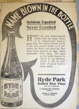 1911 St. Louis Newspaper Page - Large Hyde Park Embossed Bottled Beer Ad - $14.99