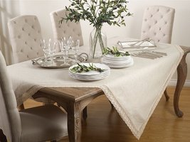 "Fennco Styles Marie Thrse Classic Design Tablecloth - 8 Sizes (70""x104"") - €59,37 EUR"