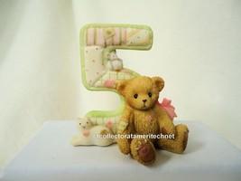 Cherished Teddies Teddies To Cherish Number Age 5 2004  NEW - $19.75