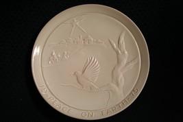 Vtg 1975 Frankoma Pottery~Peace On Earth~Christmas Plate~By Joniece~Mint - $11.97