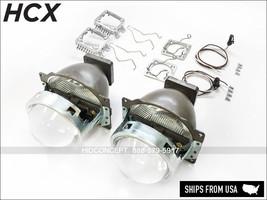 NEW! HID Xenon D1S D2S D3S D4S OE fitment Projectors retrofit universal kit - $79.99