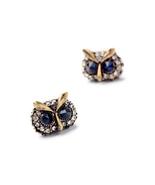 Imitated Jewelry  Factory Fashion Retro Lovely Owl Ladies Ear Studs Peridot - $5.02