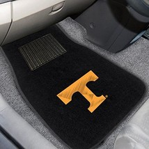 FANMATS 10714 Tennessee 2-Piece Embroidered Car Mat - $24.30