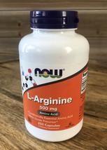 NOW Foods L-Arginine 500 mg,250 Veg Capsule Exp 11/23+ - $13.93