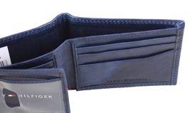 Tommy Hilfiger Men's Leather Credit Card Id Traveler Rfid Wallet 31TL240004 image 8