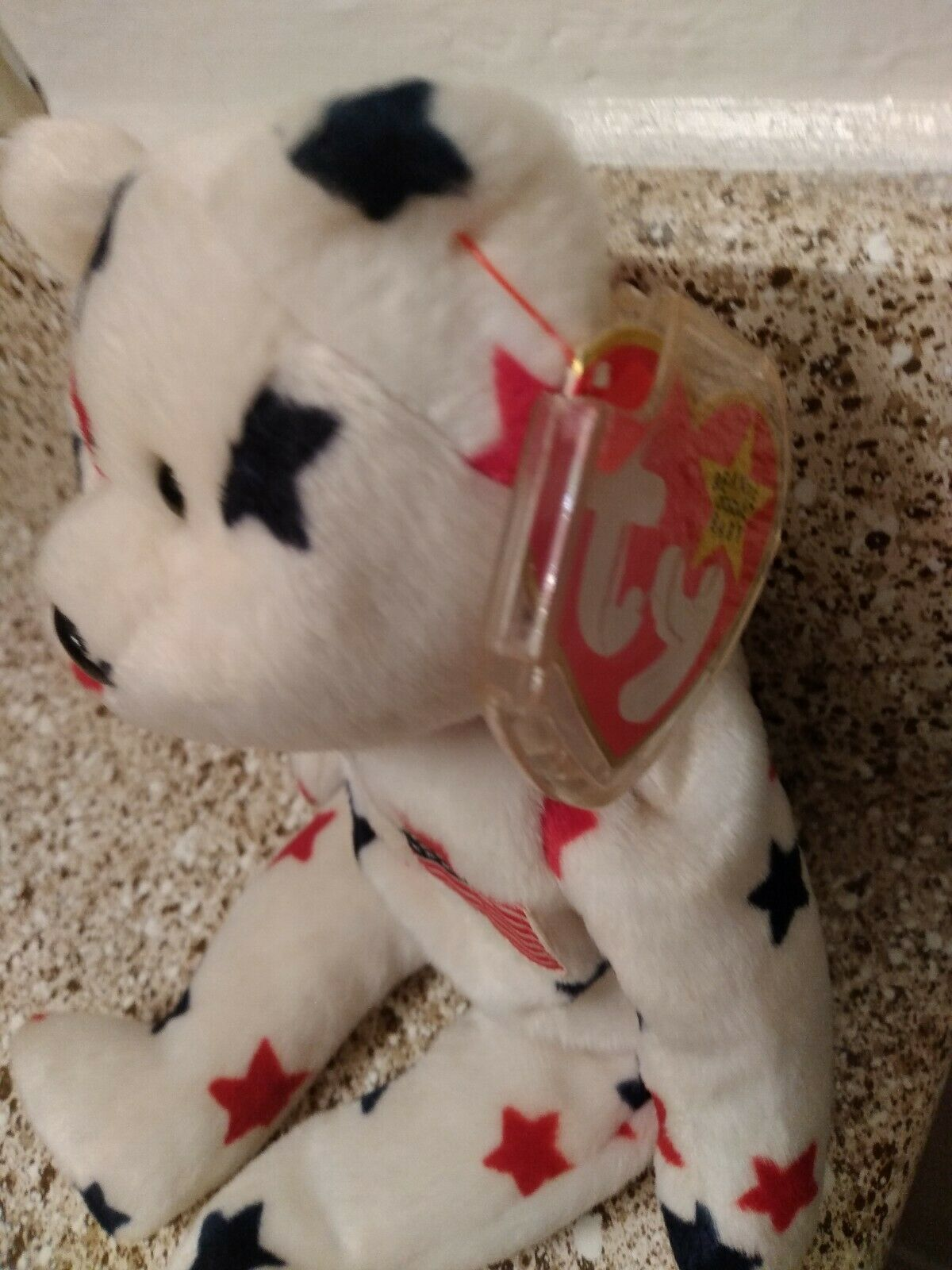 Ty Glory Beanie Baby good condition both tags and tag protector