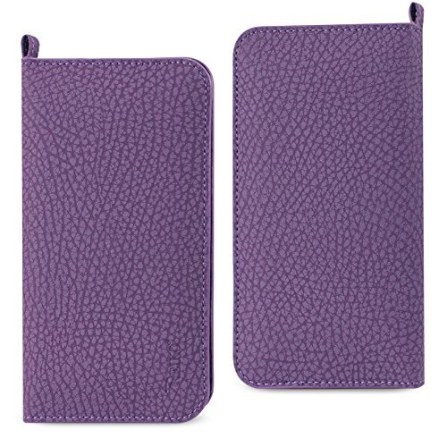 Reiko Universal Wallet Phone Case With Card Holder, Side Pockets And Magnetic Fl, used for sale  USA