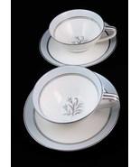 Noritake Bluebell Tea Cups & Saucers (2 Sets) #... - $8.00