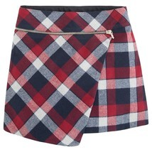 Mayoral Tween Girls Brushed Tartan Check Plaid Skirt
