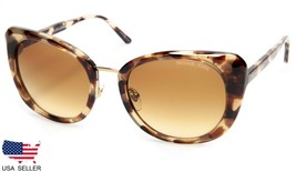 New Michael Kors MK2062 Lisbon 33232L Tortoise /BROWN Sunglasses 52-20-140 B48mm - $59.39