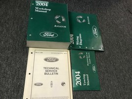 2004 FORD LINCOLN AVIATOR TRUCK SUV Service Shop Repair Manual Set W EWD... - $98.95