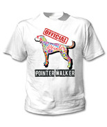 Pointer - official walker c - NEW COTTON WHITE TSHIRT - $19.59