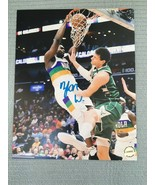 ZION WILLIAMSON NEW ORLEANS PELICANS AUTOGRAPHED HAND SIGNED 8X10 PHOTO ... - $92.32