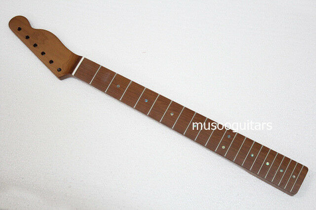 Primary image for 21Fret Roasted Maple Neck with abalone dot inlay