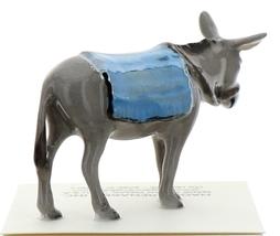 Hagen-Renaker Miniature Ceramic Donkey Figurine with Blanket image 4