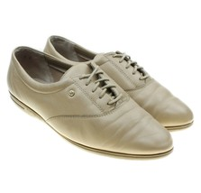 Easy Spirit MOTION Womens Size 8 Beige Leather Anti-Gravity Walking Shoes - $29.69