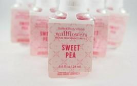 (10) Bath & Body Works Pink Sweet Pea Wallflower Fragrance Refill Bulb 0.8oz New - $73.63