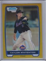 TAYLOR WHITENTON 2012 Bowman Chrome Prospects Gold Refractor #39/60 #81 ... - $7.16