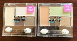 Almay WAKE UP Powder Eyeshadow + Primer Eye Color Makeup YOU CHOOSE New & Sealed - $5.06+