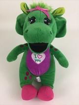 "Barney and Friends Singing Baby Bop Plush Stuffed 11"" Toy Lyons 2017 Mattel - $24.70"