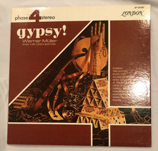 "GYPSY! - Werner Muller - London Phase 4 Stereo - 12"" Vinyl Record LP - EX - $11.88"